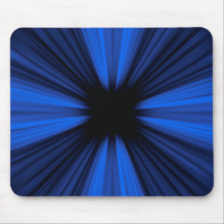 Blue speed lines mouse mat
