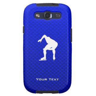 Blue Speed Skater Samsung Galaxy SIII Case