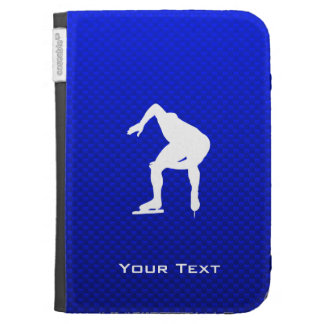 Blue Speed Skater Case For The Kindle