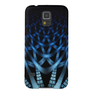 Blue spider web galaxy s5 covers