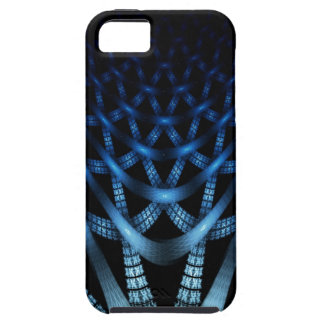 Blue Spider Web iPhone 5 Covers