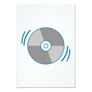 Blue Spinning CD Invites