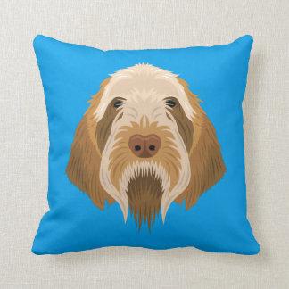 Blue Spinone Italiano Cushion