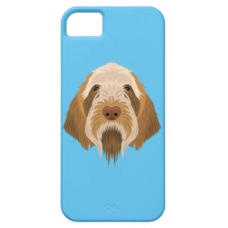 Blue Spinone Italiano iPhone 5 Case