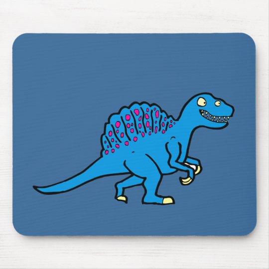 Blue Spinosaurus Mouse Pad