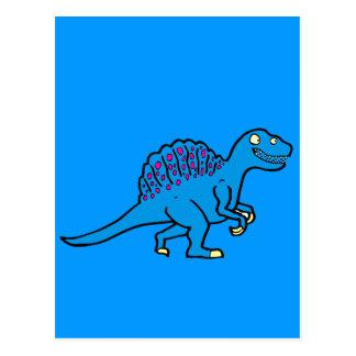 Blue Spinosaurus Postcard