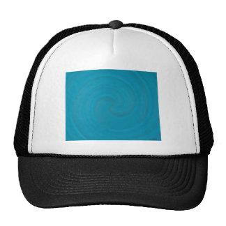Blue Spiral Cap