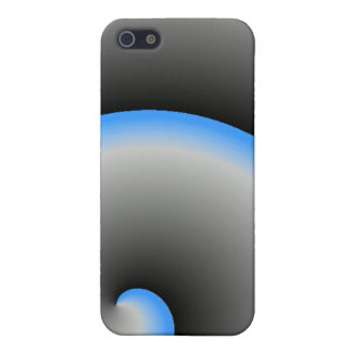 Blue Spiral iPhone 5/5S Case