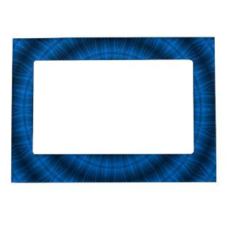 Blue Spiral Magnetic Frame