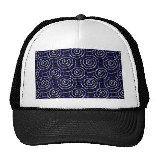 Blue Spirals Cap