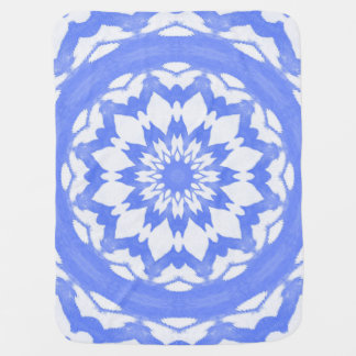 Blue Splash. Baby Blanket