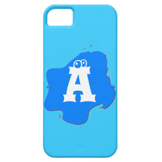 Blue Splash Cover For iPhone 5/5S