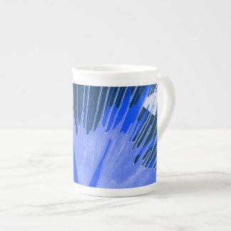Blue Splash. Tea Cup
