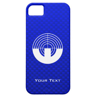 Blue Sport Shooting iPhone 5 Cases