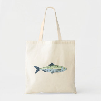 Blue Spotted Fish Bags
