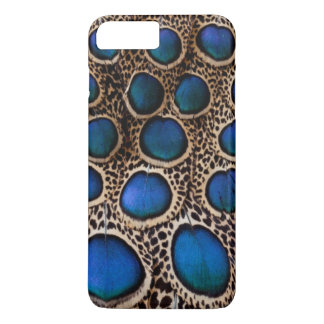 Blue spotted peacock pheasant iPhone 8 plus/7 plus case