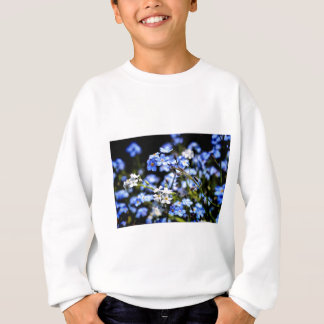 Blue Spring Sweatshirt
