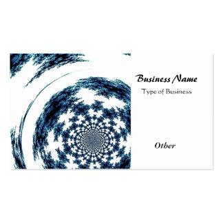 Blue Spun Thread Pack Of Standard Business Cards
