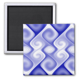 Blue Square Magnet