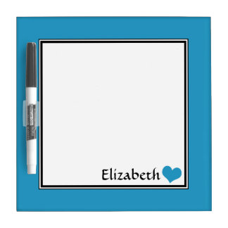 """Blue Square Personalised 8"""" Dry-Erase Board"""