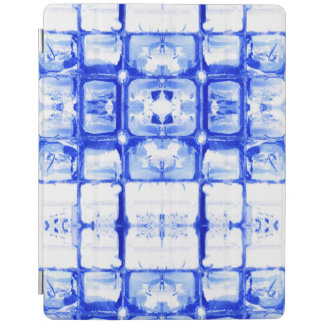 Blue Squares iPad Smart Cover iPad Cover