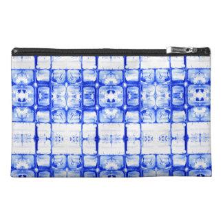 Blue Squares Travel Accessory Bag