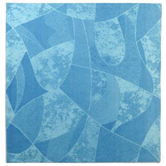Blue Stain Glass Napkins