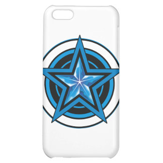 blue star 1 iPhone 5C cover