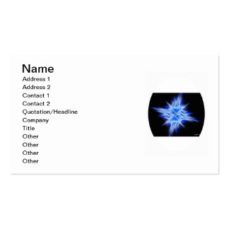 Blue Star 1 Pack Of Standard Business Cards