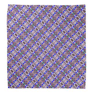 Blue star bandana