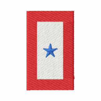 Blue Star Banner Serving Active Duty