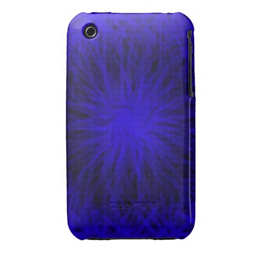 Blue star burst iPhone 4/4S Vibe Universal Case iPhone 3 Case-Mate Cases