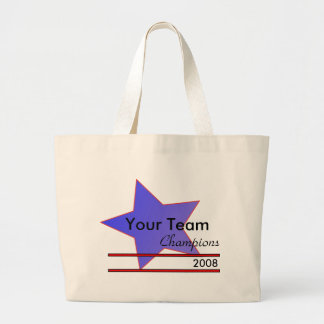 Blue Star Custom Team Champion Tote Bag