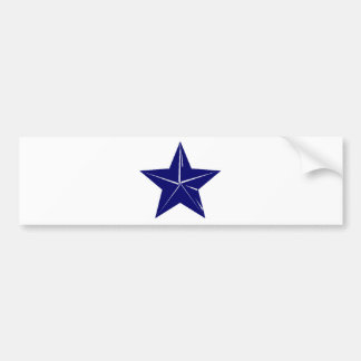 Blue Star design for any purpose!! Bumper Sticker