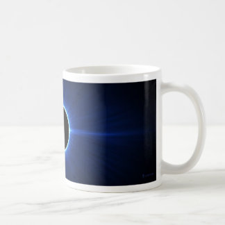 Blue Star Eclipse Basic White Mug
