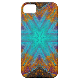 Blue STAR iPhone 5 Cover