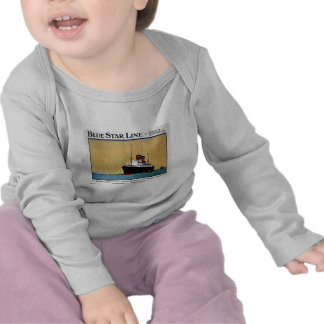 Blue Star Line South America T Shirt