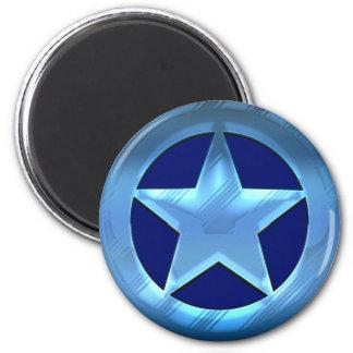 Blue Star Magnet