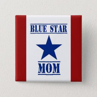 Blue Star Mom Military 15 Cm Square Badge