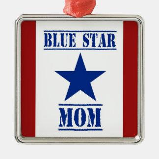 Blue Star Mom Military Christmas Ornament