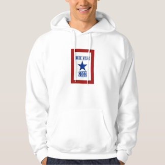 Blue Star Mom Military Family Support Hoodie
