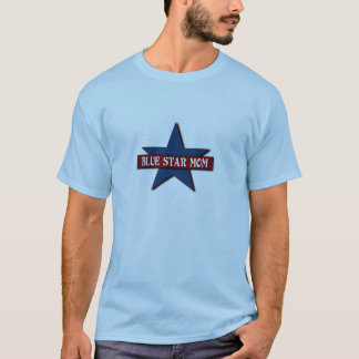 Blue Star Mom Military Family T-Shirt