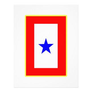Blue Star Mother Flyer Design