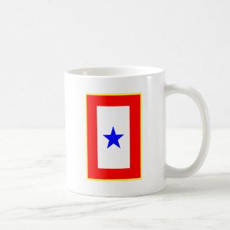 Blue Star Mother Basic White Mug