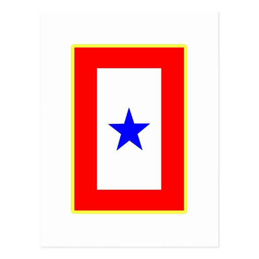Blue Star Mother Post Card