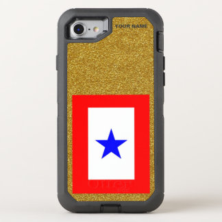 BLUE STAR MOTHERS OtterBox DEFENDER iPhone 8/7 CASE