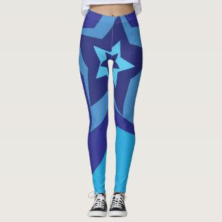 Blue star pants