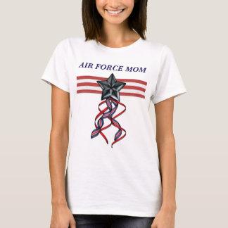 Blue Star Ribbon Air Force Mom T-Shirt