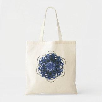 Blue Starburst Bag