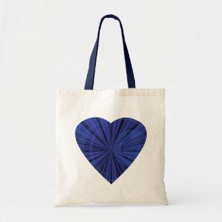 Blue Starburst Budget Tote Bag
